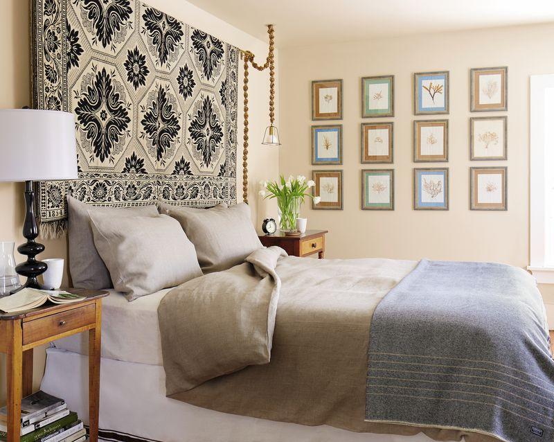 Decorar con textiles la habitación