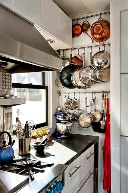 Ideas para equipar cocinas peque as - Aprovechar espacio habitacion pequena ...