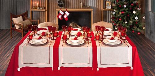 decorar mesas en navidad y año nuevo