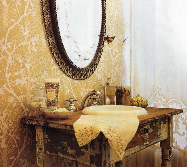 decorar con muebles vintage