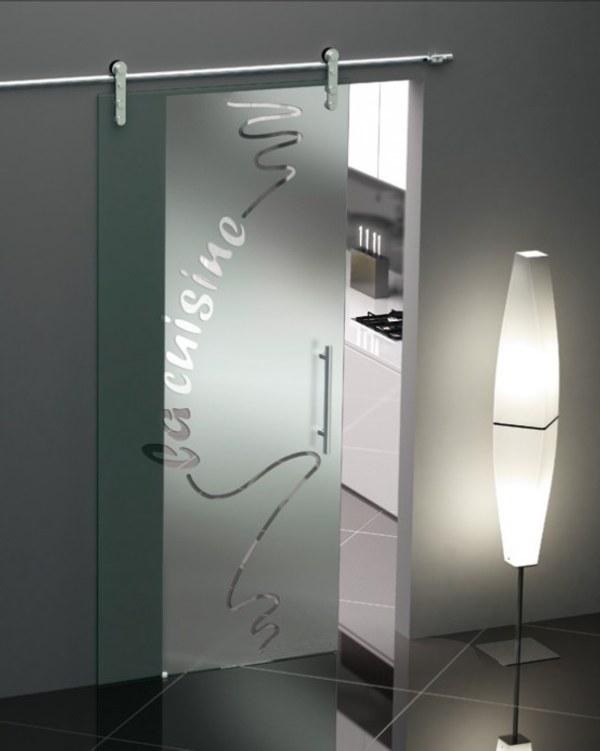 Decorativas puertas correderas de cristal - Cristales decorativos para puertas de interior ...