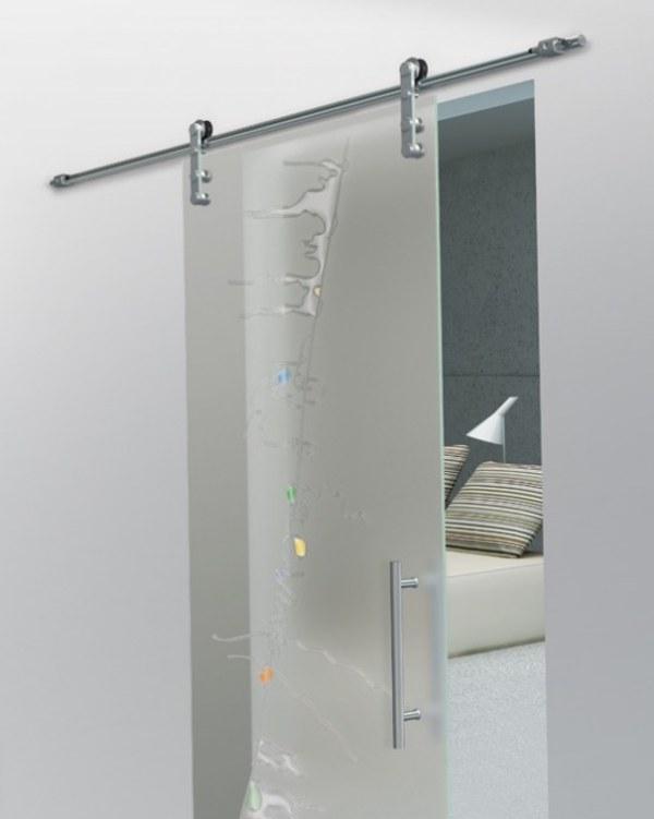Decorativas puertas correderas de cristal - Cristal para puerta ...