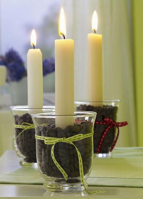 Manualidades Decoracion Velas ~ Detalles con Velas para la Decoraci?n de Navidad