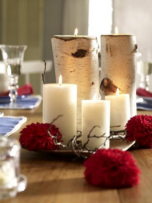 Detalles con velas para la decoraci n de navidad for Detalles de navidad