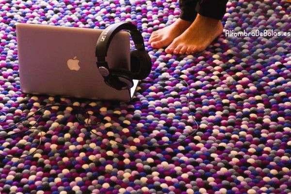 diseñar alfombras de fieltro