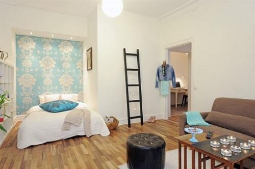 diseno apartamento pequeno estilo 1 Diseño de un Apartamento Pequeño y con Estilo