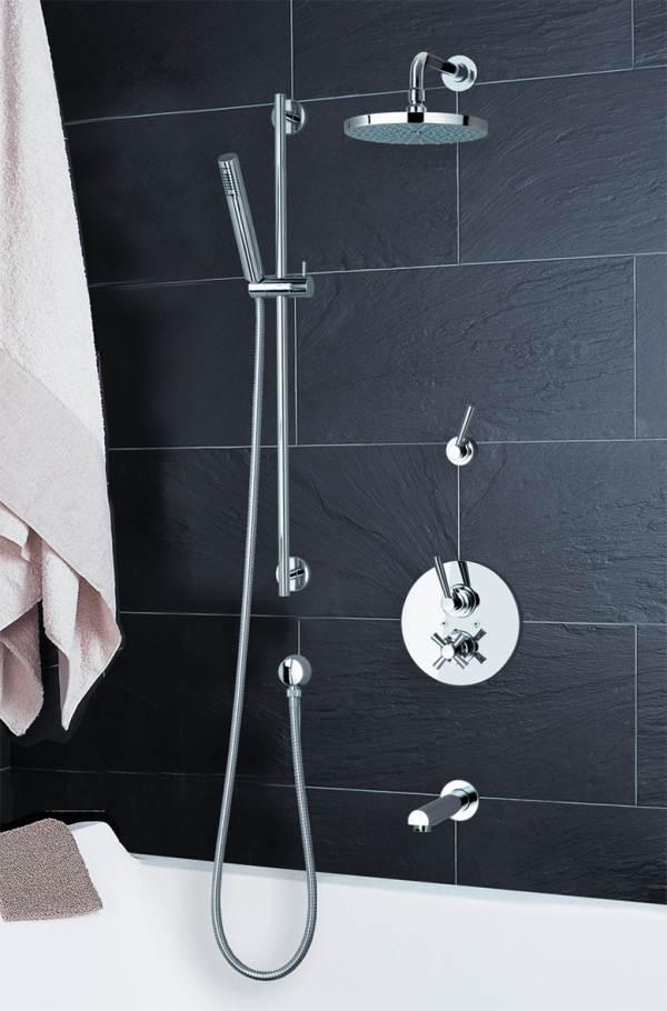 moderna grifer a encastrada para ducha