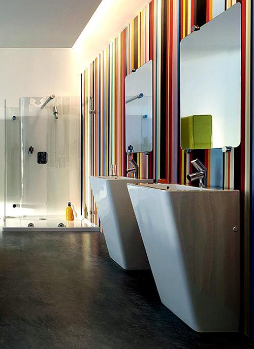 Baños Elegantes Diseno:Baños Contemporáneos con Diseños Elegantes