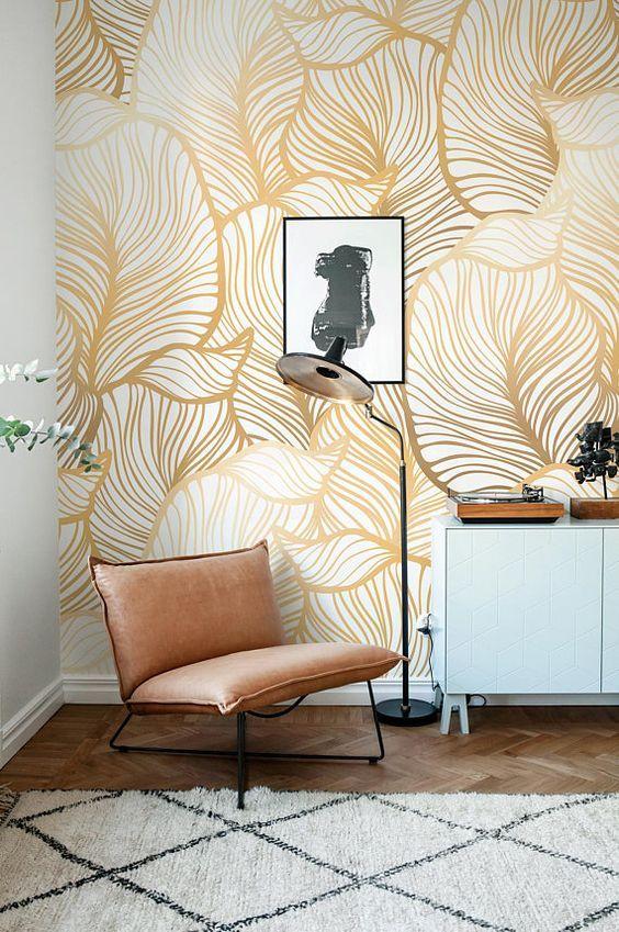 diseños de papel mural