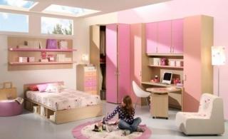dormitorios color rosa ninas jovenes 11 320x195 Dormitorios Color Rosa para Niñas y Jóvenes