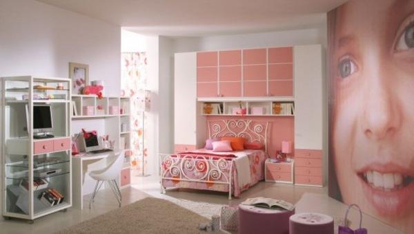 Dormitorios color rosa para ni as y j venes for Cuartos de nina de 9 anos modernos