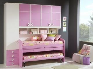 Dormitorios Color Rosa para Niñas y Jóvenes