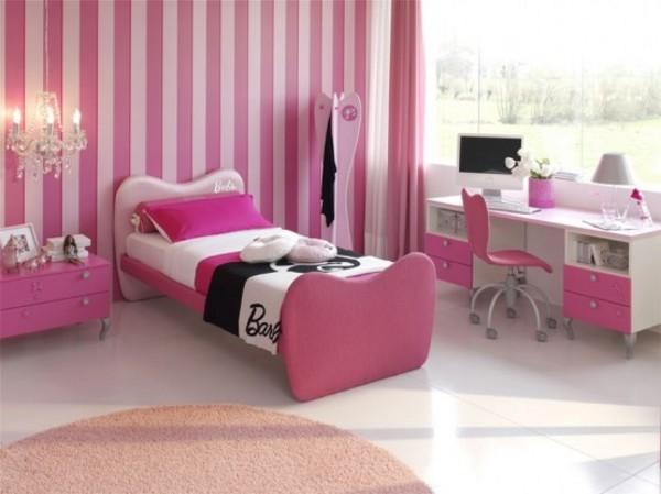 dormitorios color rosa ninas jovenes 14 Dormitorios Color Rosa para Niñas y Jóvenes