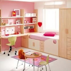 Dormitorios color rosa para ni as y j venes decoraci n for Cuartos de ninas color rosa