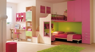 dormitorios color rosa ninas jovenes 2 320x174 Dormitorios Color Rosa para Niñas y Jóvenes