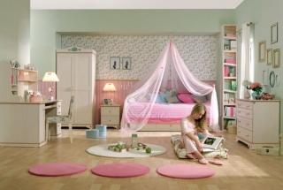 dormitorios color rosa ninas jovenes 4 320x215 Dormitorios Color Rosa para Niñas y Jóvenes