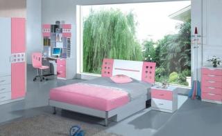 dormitorios color rosa ninas jovenes 9 320x197 Dormitorios Color Rosa para Niñas y Jóvenes