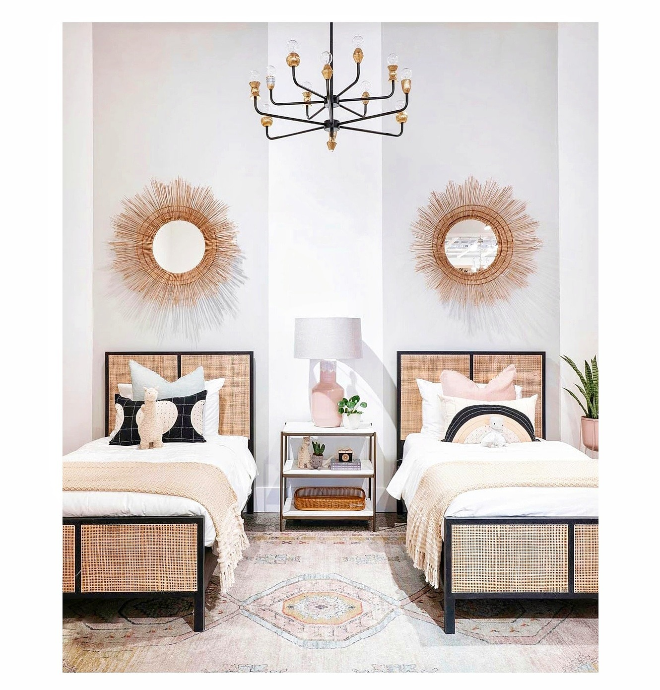 dormitorios compartidos elegantes
