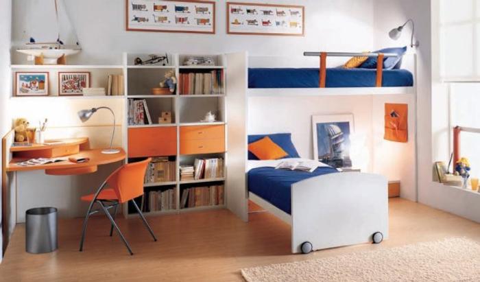 Dormitorios contempor neos para ni os for Dormitorio juvenil nino
