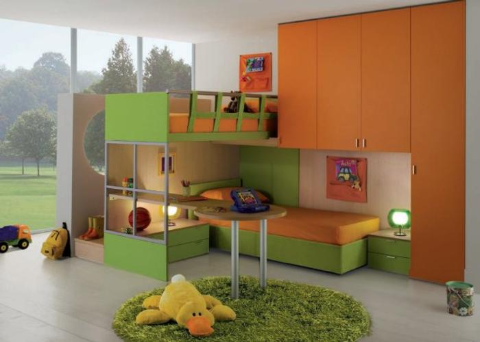 Dormitorios contempor neos para ni os for Dormitorio original