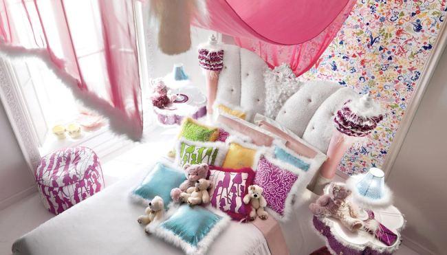 Se trata de hermosos dormitorios infantiles , compuestos por piezas