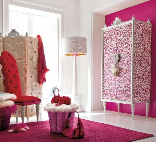 dormitorios elegantes y glamourosos para ni as
