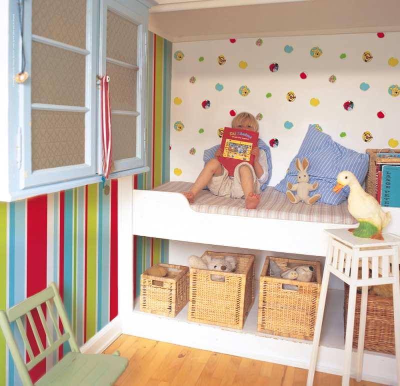 C mo renovar habitaciones infantiles con papel pintado - Pintar dormitorios infantiles ...