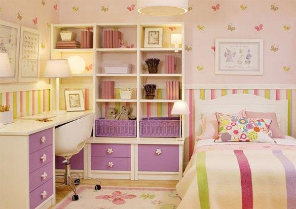 Dormitorios juveniles muebles modernos con color y estilo for Muebles de cuartos infantiles