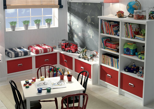 Dormitorios juveniles muebles modernos con color y estilo - Sillones para dormitorios modernos ...