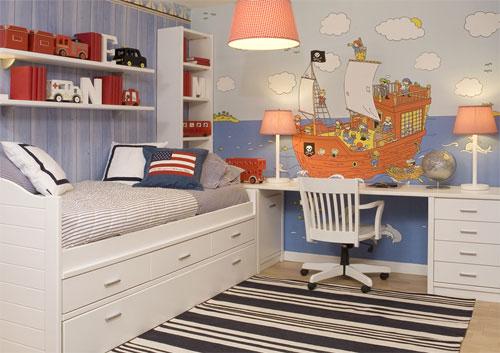 Dormitorios juveniles muebles modernos con color y estilo for Muebles asoral
