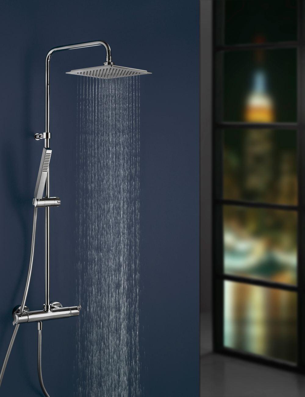 Ducha monomando con inversor integrado for Monomando para ducha