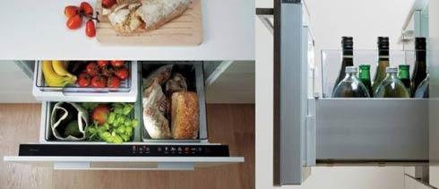 electromésticos integrados en los muebles de cocina