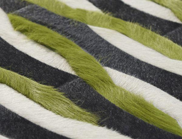Elegantes alfombras de piel for Alfombras de cuero