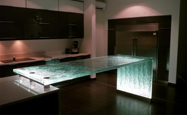 Encimeras de cristal dise o creativo y funcionalidad en - Encimeras de cristal ...