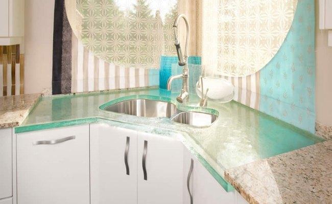 Encimeras de Cristal, Diseño Creativo y Funcionalidad en la Cocina