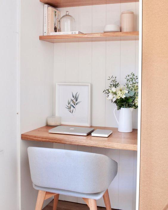 escritorio pequeño
