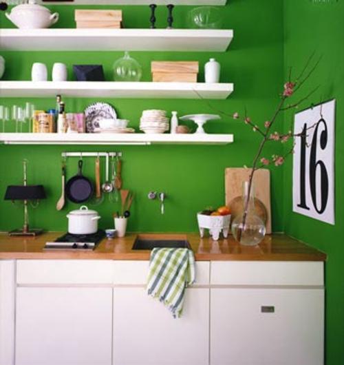 estantes cocina Decoración para Cocinas Pequeñas