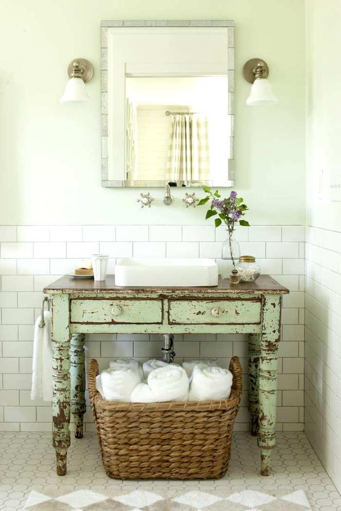 Muebles De Baño Vintage:Muebles y Accesorios Vintage para el Baño