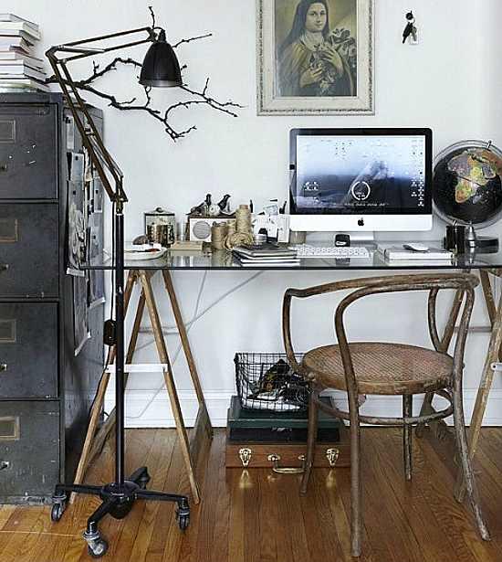 estudio con estilo Cómo Decorar una Zona de Trabajo en Casa