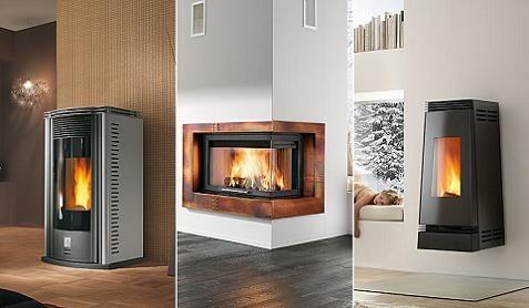 Estufas y chimeneas con ideas modernas