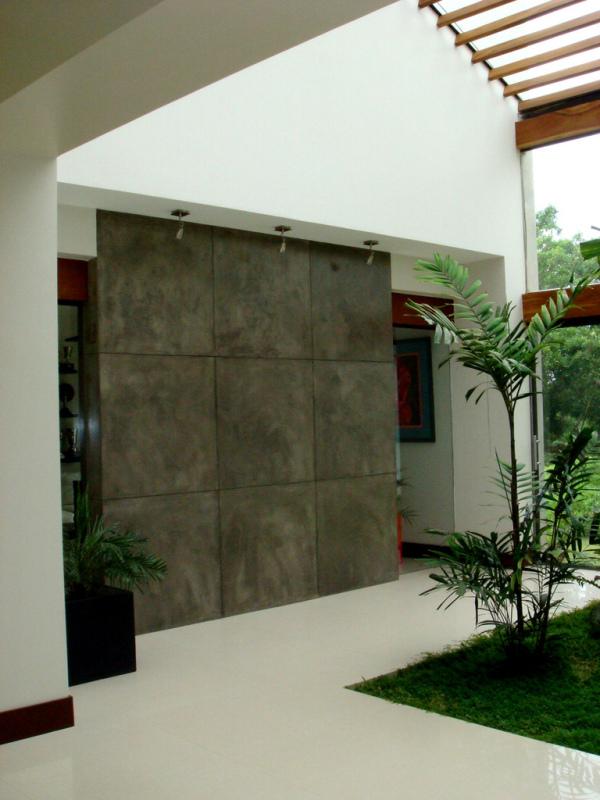 Microcemento alisado para pisos y revestimientos - Microcemento para exterior ...