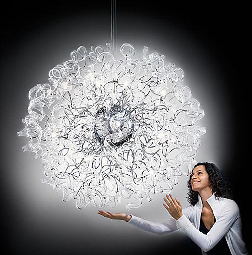 gran lámpara colgante
