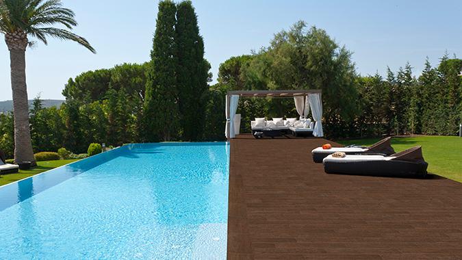 Ltimas tendencias de dise o para piscinas - Gres porcelanico exterior ...