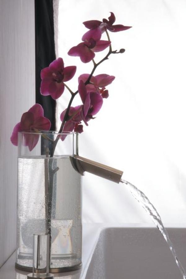 Griferia Para Baño Easy:Flower Design Bathroom Faucet
