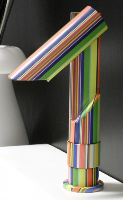Grifo de color savil un arco iris en el ba o for Grifos de colores