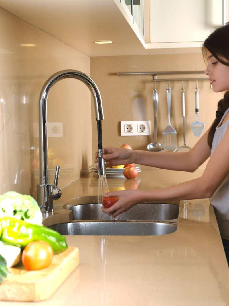 Nuevos grifos extraibles para cocinas dise o y funcionalidad - Grifos de cocina precios ...