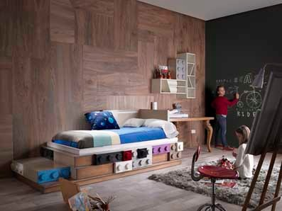 habitaciones infantiles y juveniles