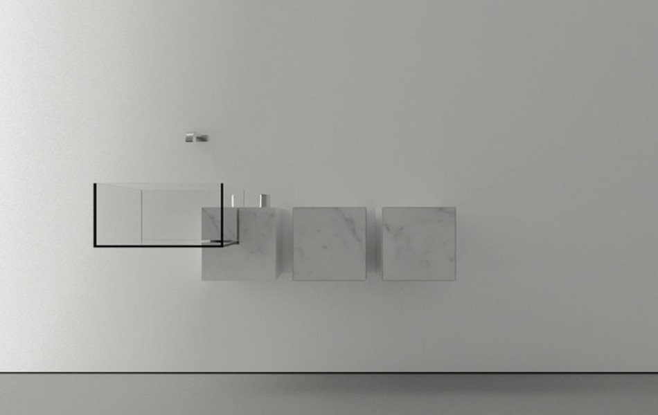 Baño Pequeno Original:idea para baños pequeños
