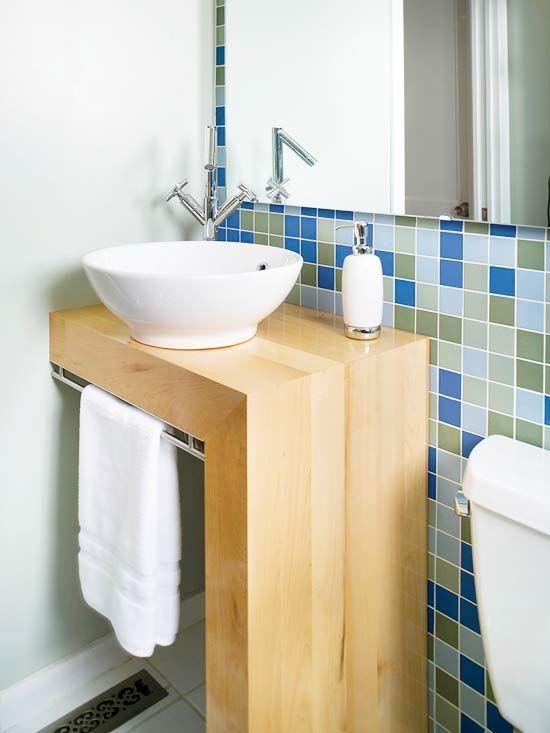 Baño Pequeno Original:ideas para baños pequeños