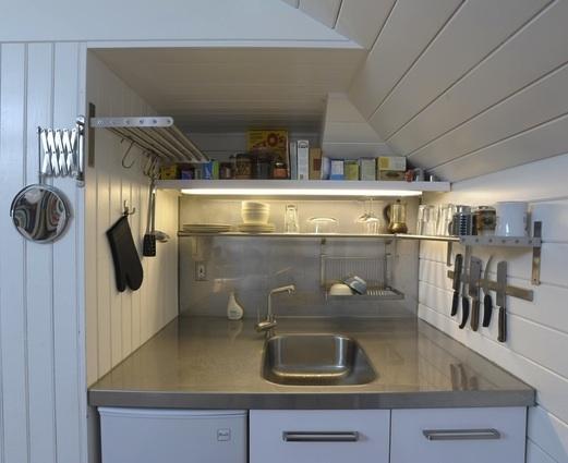 ideas cocinas pequenas 4 Ideas para Cocinas Pequeñas
